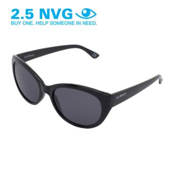 Gambar 2.5 NVG Kacamata Wanita Hitam Bundar Proteksi UV 400 Lensa Hitam SUN  203 0202 6b05b577fe