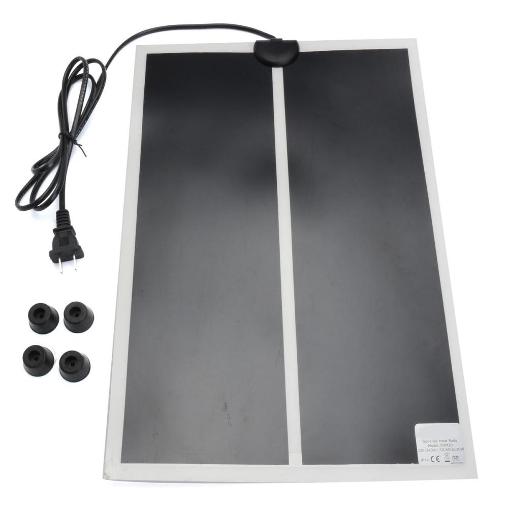 28X28cm 7W Reptile Pet Warming Heat Mat Warm Heater Heating Pad Supplies - intl