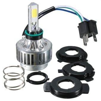 32 W 3000LM COB LED Hi/Lo Beam H4 Motor Headlight Lampu Bulb Lampu Depan BARU-Internasional
