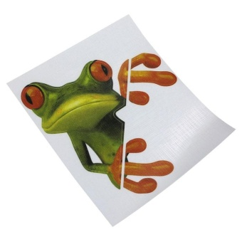 Auto Car Vehicle 3d Fake Air Vents Outlet Decorative Stickers Decals Source · 3D Peep Frog