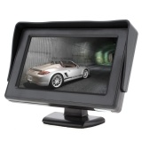 ... 4.3 Inch HD 2-Channel Video Input TFT-LCD Car Monitor + 170 Lebar ...