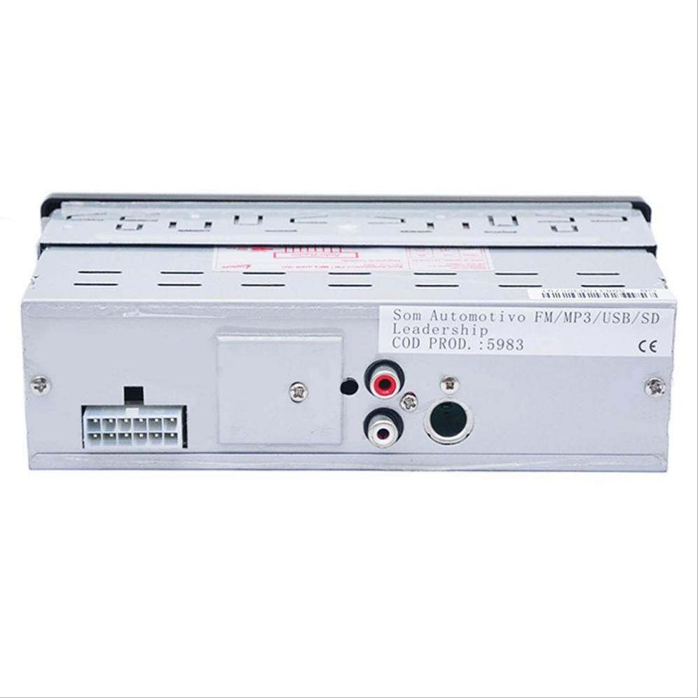5983 mobil 1 din di dasbor aux audio stereo FM Receiver SD masukan USB MP3 WMA