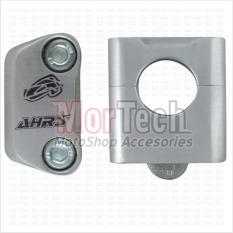 AHRS Raiser - Dudukan - Peninggi Stang - Stir - Setang Fatbar Tiger New 28 mm Panjang Silver