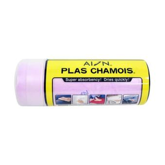Aion Plass Chamois Car Wipe Purple - Lap Kanebo Warna Ungu