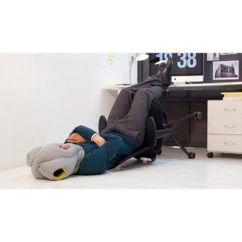 AIUEO Ostrich Pillow Accessories & Eye Masks - Bantal TidurPortable - Abu-