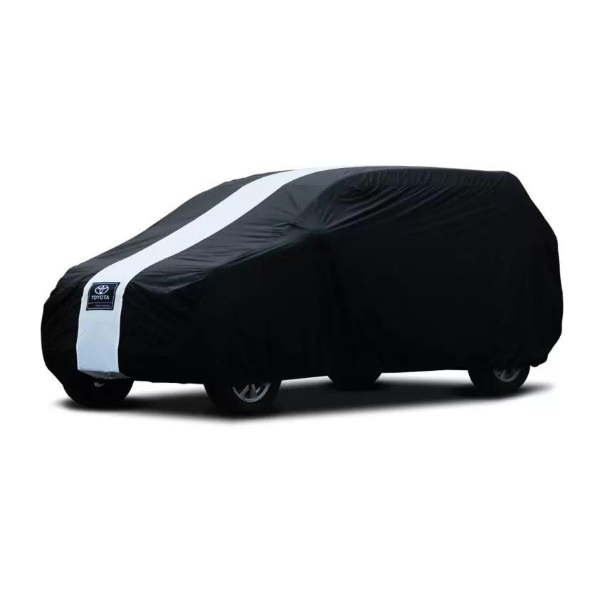 Aksesoris Mobil Cover Super Sarung Mobil/Cover Mobil Innova -Hitam/Putih
