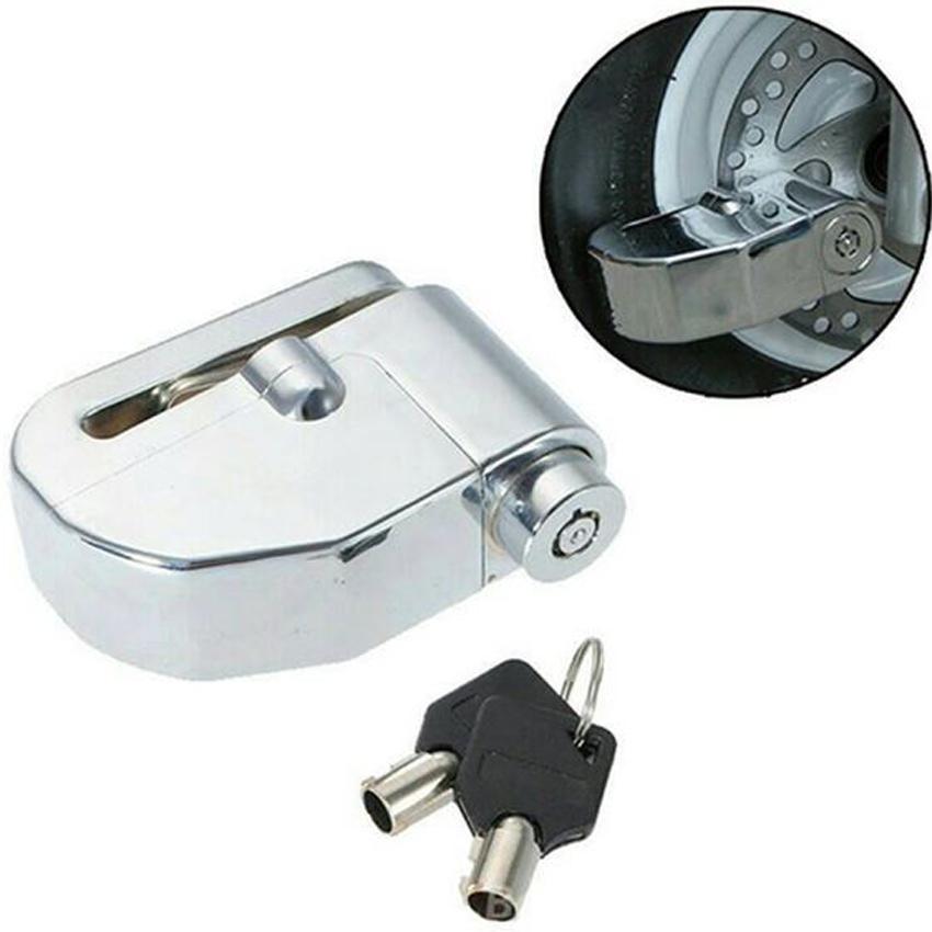 Alarm Disc Lock Perfect Guard Shock Sensor - Gembok Alarm Motor - Merah