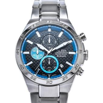 Alba Active Chronograph Jam Tangan Pria - Tali Stainless Steel - AM3301X1 - 5