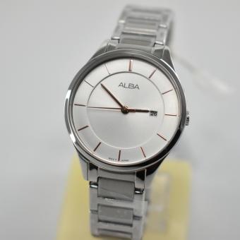 Alba Fashion Analog Jam Tangan Wanita - Tali Stainless Steel - AH7L15X1 - 3
