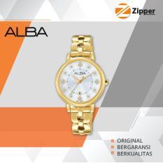 Alba Fashion Analog Jam Tangan Wanita - Tali Stainless Steel - AH7L54X1