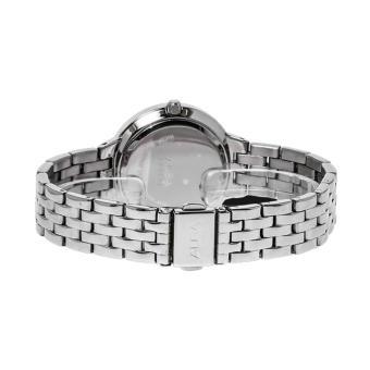 Alba Fashion Jam Tangan Wanita - Tali Stainless Steel - Silver - AH7G07X1 - 2