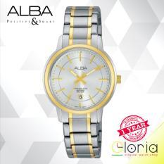 Alba Fasion AH7G80X1 Jam Tangan Wanita Stainless Steel Strap - Gold