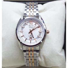 Rp 680000 Alexandre Christie AC8501MC Jam Tangan Wanita Stainless Steel Silver Combinasi GoldIDR680000