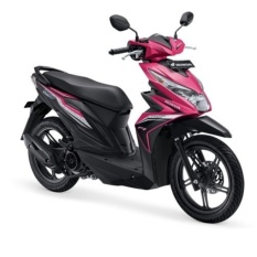 ALL NEW BEAT SPORTY ESP CBS ISS FUSION MAGENTA BLACK - Jakarta