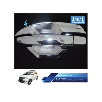 All New Xenia Outer Handle Cover Elegant Chrome