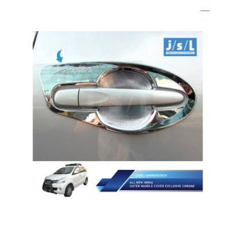 All New Xenia Outer Handle Cover Exclusive Chrome