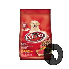 alpo 3 kg adult beef liver and vegetable