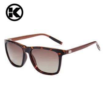 Aluminum+TR90 Sunglasses Men Polarized Brand Designer Points Women/Men Vintage Eyewear Driving Sun Glasses - intl