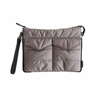 Amart Organizer Sleeve Pouch Storage iPad Bag Travel Ipad Mini Soft With Handles(Grey) - intl - 2