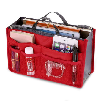 Amart penyimpanan portabel travel tas Organiser multi fungsi tas kasual (merah) - International