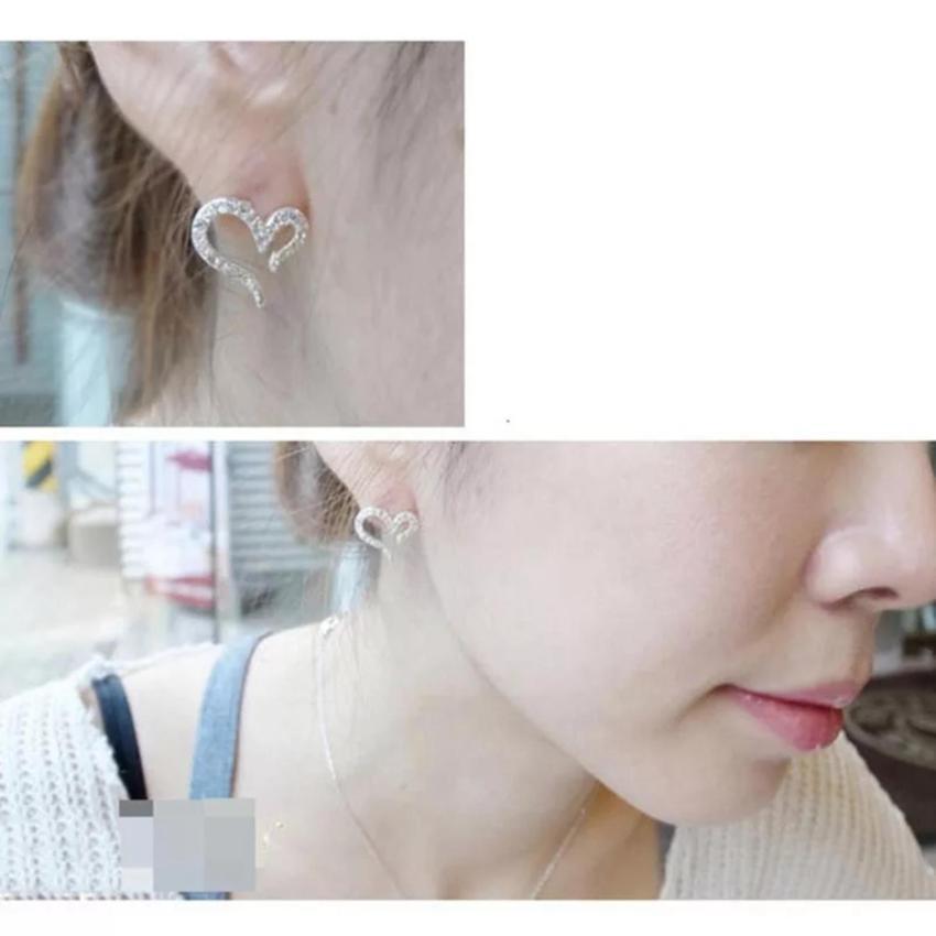... Harga Promosi Amefurashi Anting Korea Ear Bronze Antique Clip Source Amefurashi Anting Korea Love Peach Heart