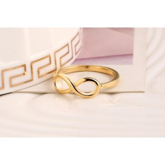 Amefurashi Cincin Infinity Unik Fashion Ring - 5