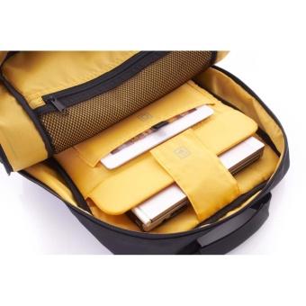 American Tourister Tas Norwick Laptop Backpack Black/Yellow - 3
