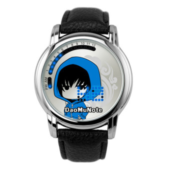 'Anime LED Touching Screen Waterproof 100M Boys'' FashionWatches(Color:Daomu Note) - intl'