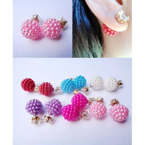 ... Anneui - EE0053 - Anting Double Pearl Candy Stud ...