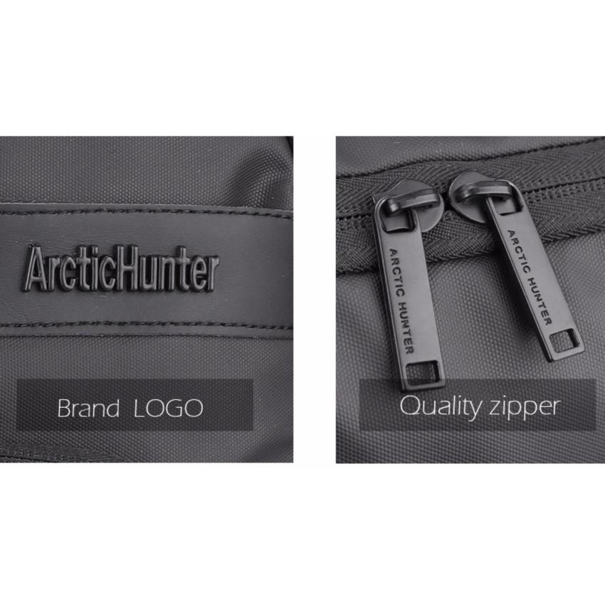 Arctic Hunter Tas Ransel Laptop Executive Business Backpack AH-EB - Hitam .