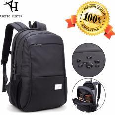 Arctic Hunter Tas Ransel Laptop Premium Executive Winter Oxford Backpack AH-WR - Hitam