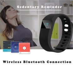 Asli Bluetooth Pintar Gelang Pedometer Kebugaran Tracker Langkah Kontra Pintar Band .