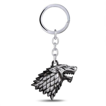 Aukey NEW 1PC New Game of Thrones Keychains Keyring Stark House Pendant Keychains - intl