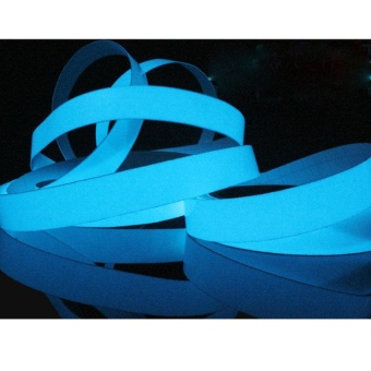 Auto Fan Luminous Tape Antislip Self-adhesive Glow In The Dark Warning Tape Sticker Decor - intl