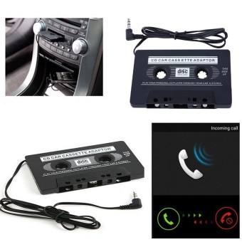 Auto FAN Motor Ponsel Car Audio Tape Cassette untuk IPod/MP3/iPhone Converter-Intl