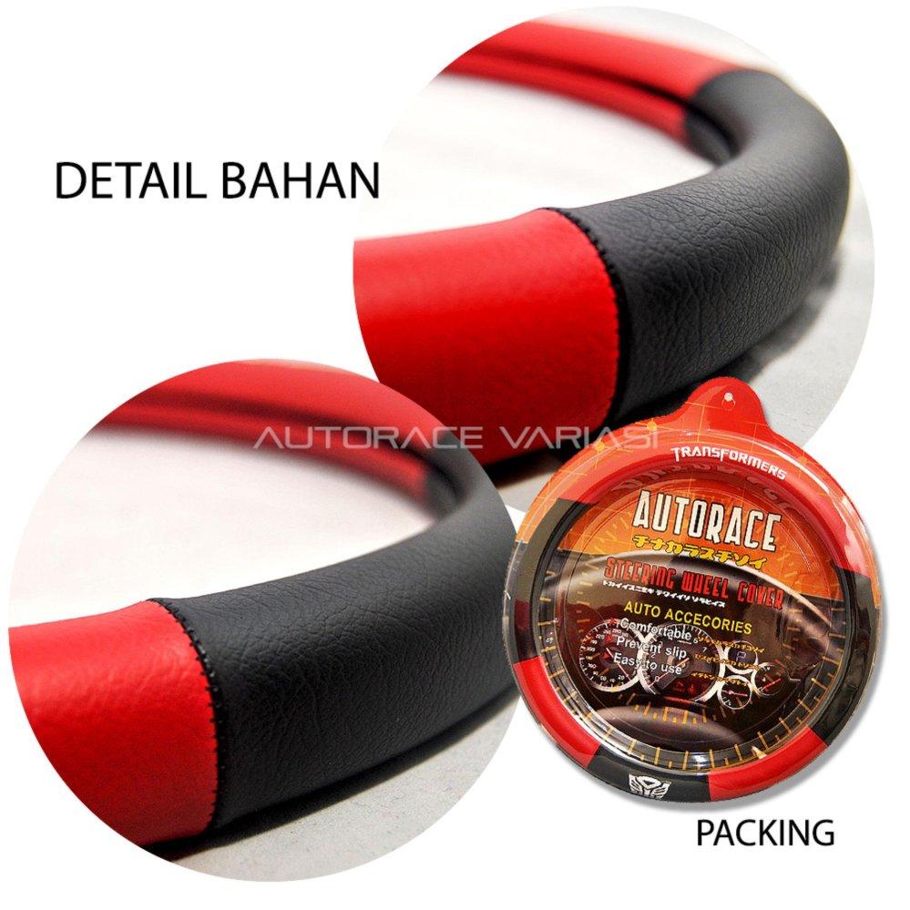 AUTORACE Cover Stir / Sarung Stir Mobil Autorace 109 - Coffee