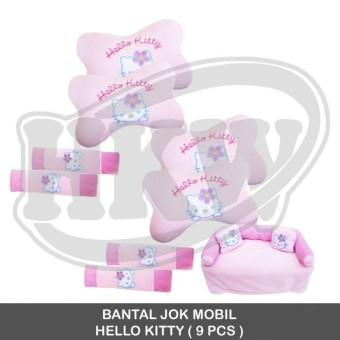 Bantal 9 Pcs Hello Kitty Mobil Avanza / Xenia 2008 - 2011