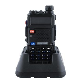 Baofeng Black UV-5R VHF/UHF Dual-Band Ham Walkie Talkies Two-