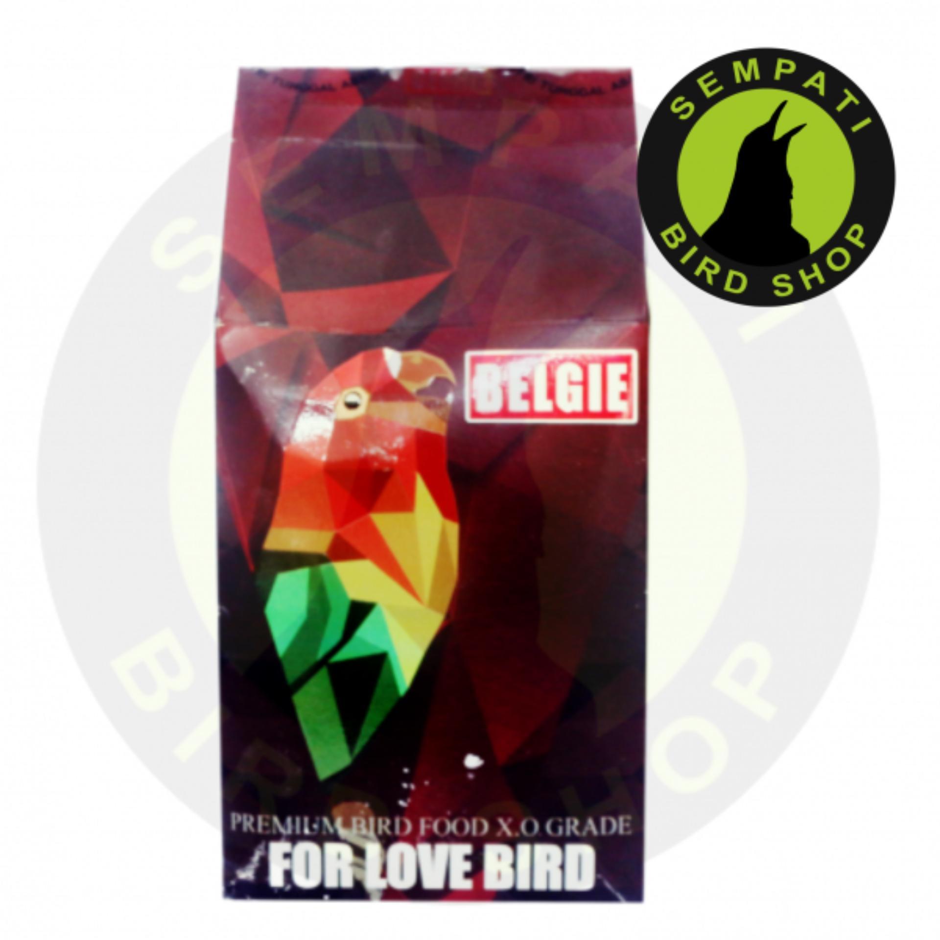 Belgie Lovebird Alami Bird Care Pakan Burung Lovebird