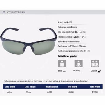 beli 1 gratis 1 Freebie  AORON Fashion Aksesoris kacamata pria desain . 313ad3ea81