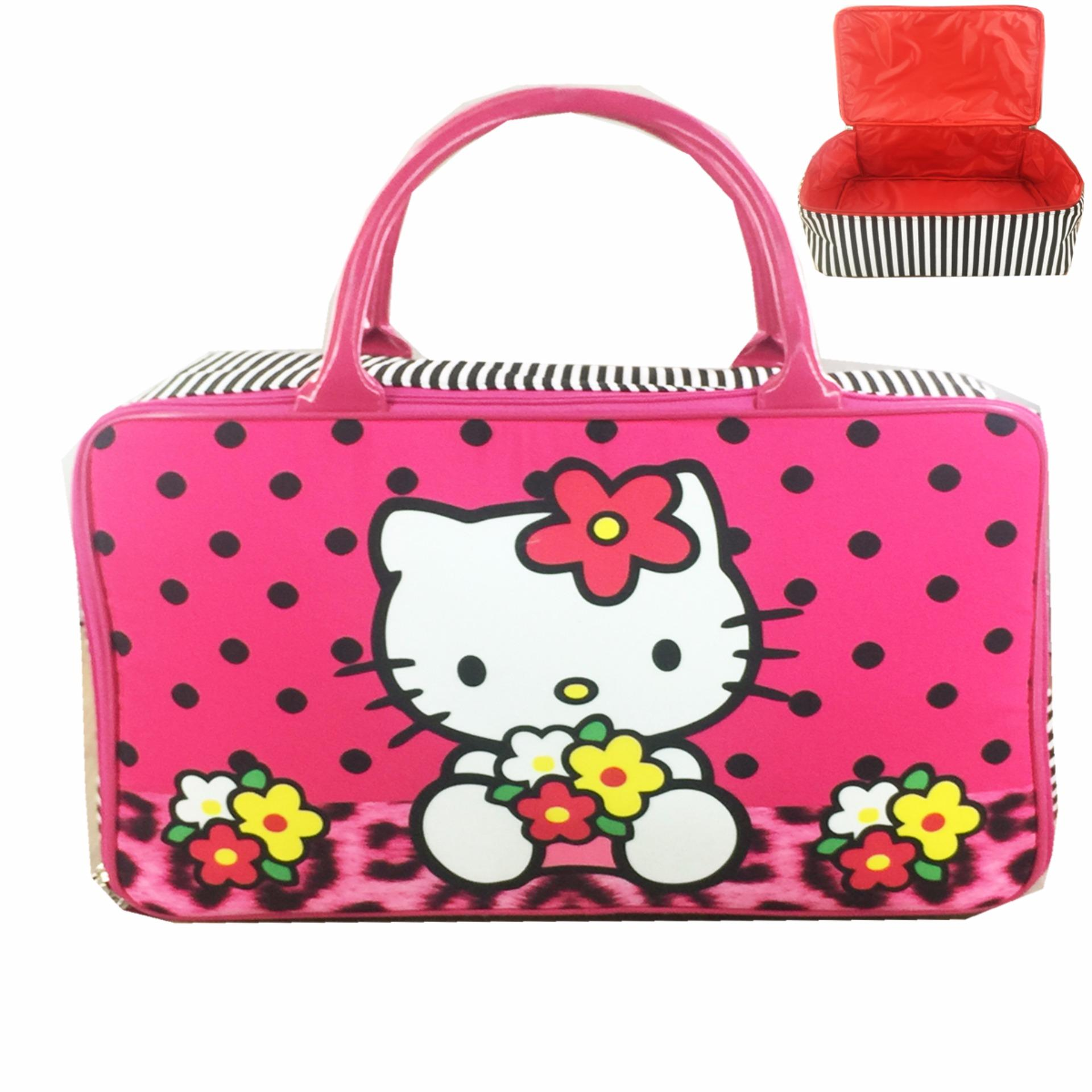 Strips Source Tsum Mickey Minnie And Friends Polkadot Source BGC Travel Bag Kanvas .