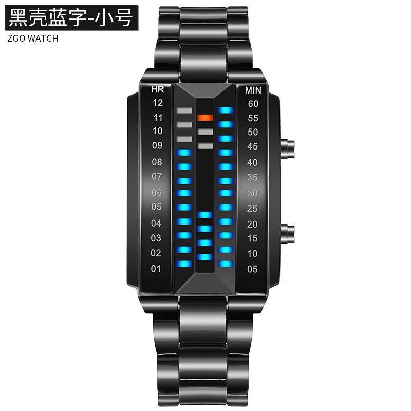 Biner Karakter Siswa Perempuan Jam Elektronik LED Jam Tangan