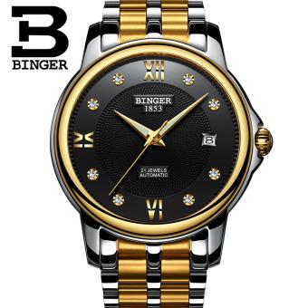 Harga BINGER dukungan asli meja laki laki jam tangan Online Review ... c876a6a831