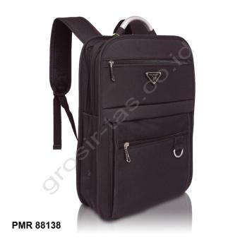 [Black] [Gray] [Blue] Polo Milano Ransel 88138 - 2 ...