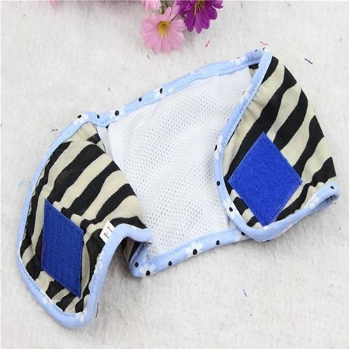 Bluelans(R) Male Pet Dog Nappy Band Clothes Sanitary Pants Training Toilet Belly Band Diapers 12# Random Color - intl