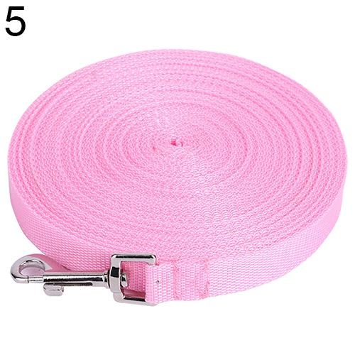 Bluelans(R) Pet Training Leash Rope Belt Dog Safety Harness for Small And Medium Size 15 m (Pink) - intl