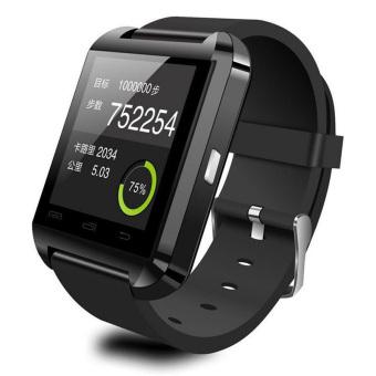 Bluetooth smart watch U8 Wrist Watch for Android Apple PhoneSmartphones Black