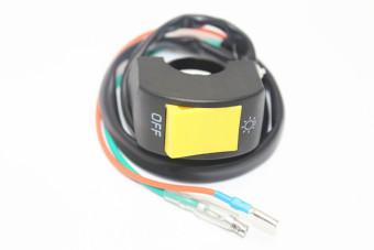 harga BolehDeals sepeda motor ATV 7/8 stang lampu LED lampu saklarmematikan lampu Spot - Internasional Lazada.co.id