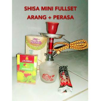harga Bong Shisa Shisha Mini Paket Lengkap (Bong,Arang,Rasa) Lazada.co.id