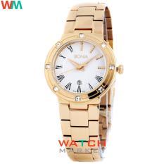 Bonia BNB10152-2213S Putih Rosegold - Jam Tangan Wanita - Stainless Steel